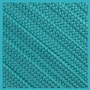 Teal 15mm Medium Fat Laces