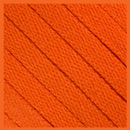 Orange Flat Thin Shoe Laces