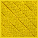 Yellow Flat Thin Shoe Laces