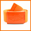 Orange Bboy Laces Canvas Belt
