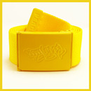 Yellow Bboy Laces Canvas Belt