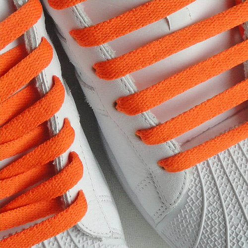419f69c2740 Orange Flat Thin Shoe Laces Orange Flat Thin Shoe Laces ...