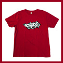 Bboy Laces Logo T-Shirt Dark Red