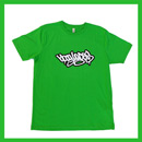 Bboy Laces Logo T-Shirt Bright Green
