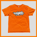 Bboy Laces Logo T-Shirt Orange