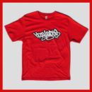 Bboy Laces Logo T-Shirt Red