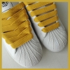 Gold 15mm Medium Fat Laces