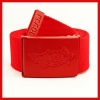 Red Bboy Laces Canvas Belt