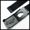 Black Bboy Laces Canvas Belt