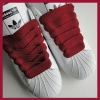 Burgundy 20mm XL Fat Laces