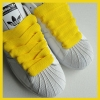 Yellow 20mm XL Fat Laces