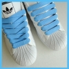 Light Blue 15mm Medium Fat Laces