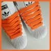 Orange 15mm Medium Fat Laces