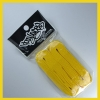 Yellow 15mm Medium Fat Laces