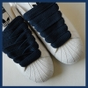 Navy Blue 20mm XL Fat Laces