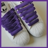 Purple 15mm Medium Fat Laces