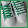 Green Oval SB Thin Shoe Laces