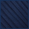 Navy Blue Oval SB Thin Shoe Laces
