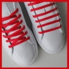 Red Oval SB Thin Shoe Laces