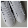 White Oval SB Thin Shoe Laces