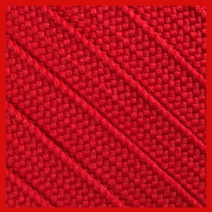 Red 15mm Medium Fat Laces