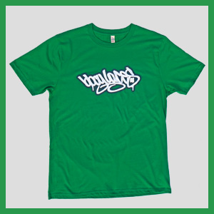 Bboy Laces Logo T-Shirt Fairway Green