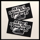 A.D.I.D.A.S. All Day I Dream Sticker Black