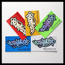 Bboy Laces Sticker Pack 3 - Petrol