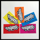 Bboy Laces Sticker Pack 2