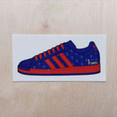 adidas Superstar 35th Anniversary Sticker - Paris